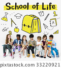 School Institute Study Learning Concept 33220921