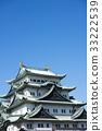名古屋城堡 城堡 城堡塔楼 33222539