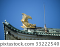 Nagoya castle in autumn 33222540
