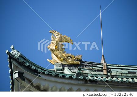 名古屋城堡在秋天 33222540