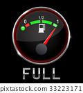 gauge fuel vector 33223171