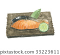 grilled fish, grilled salmon, salmon 33223611
