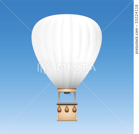 White Blank Captive Balloon 33224118