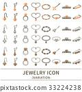 珠寶 圖標 Icon 33224238