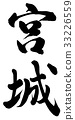 imperial palace, calligraphy writing, chinese character 33226559