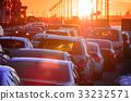 car, traffic, jam 33232571