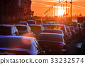 car, traffic, jam 33232574