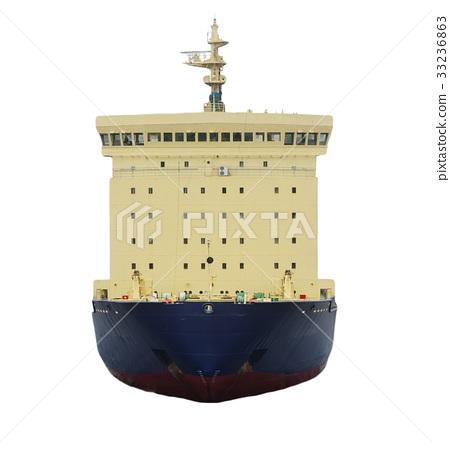 icebreaker ship isolated 33236863