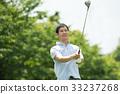 高尔夫 高尔夫球手 中年 33237268