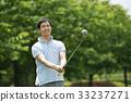 高尔夫 高尔夫球手 中年 33237271