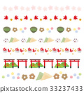 Kyoto ornament illustration set 33237433