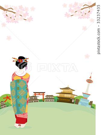 京都舞妓城镇景观插图 33237435