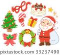 聖誕節例證材料集合 33237490