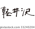 คารุอิซาวะ,การคัดลายมือ,ตัวอักษร 33240204