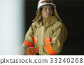 Firefighter fire protection clothing 33240268