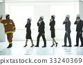 協會成員 消防員 疏散演習 33240369