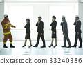 協會成員 消防員 疏散演習 33240386