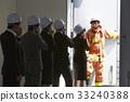 協會成員 消防員 疏散演習 33240388