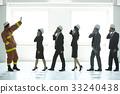 協會成員 消防員 疏散演習 33240438