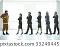 協會成員 消防員 疏散演習 33240445