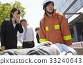 消防员 解救 救生 33240643
