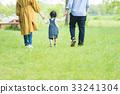 在公园里玩的家庭 33241304