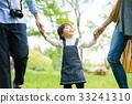 在公园里玩的家庭 33241310