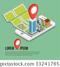 地圖 數位 移動 33241765