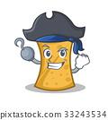 Pirate kebab wrap character cartoon 33243534