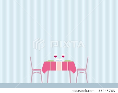 Table chair table table striped 33243763