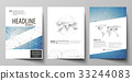Business templates for brochure, flyer, booklet 33244083
