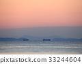 황혼, 해질녘, 바다 33244604