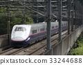 yamabiko, bullet train, shinkansen 33244688