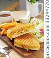 Grilled Cuban sandwich  33244770