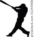 baseball batter 33244906