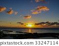Sunrise on Rebun Island 33247114