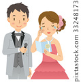 nuptials, weddings, bridal couple 33248173