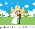 婚禮 新郎新娘 教會 33248212