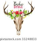 裝飾性的 物體 頭骨 33248833