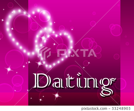 Dating Hearts Represents Romantic Romance 33248903