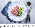 Tuna Filet with Vegetable 33254677