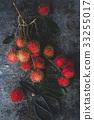 Fresh Rambutan Fruits 33255017