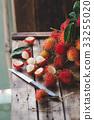 Fresh Rambutan Fruits 33255020