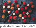 Fresh Rambutan Fruits 33255021
