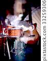 Standard battery music miniature 33259306