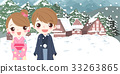 cute cartoon couple 33263865