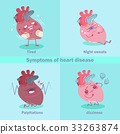 heart with health concept 33263874
