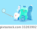 tooth with health concept 33263902