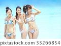 女性朋友 水池 旅遊勝地 33266854
