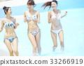 女性朋友 游泳池 水池 33266919